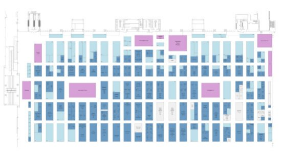 in-cosmetics Asia floorplan screenshot